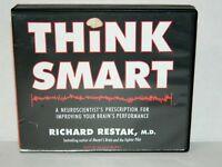Think Smart Improving Your Brain's Preformance Richard Restak 6 CD Audio book