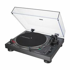 Audio-technica Turntable AT-LP120X USB BK Black Incl AT-VM95E Cover
