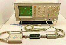 Hpagilent 8756a Analyzer Hp 85027c Directional Bridge Hp 11664a Detectors 2