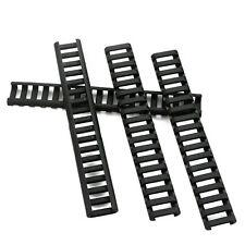 4pcs Ladder Rail Cover 17 slot Handguard Weaver Picatinny Heat Resistant black