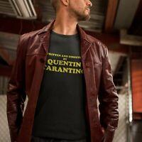 Quentin Tarantino Movie Black T-shirt Funny Slogan Pulp Fiction Retro TV S-3XL