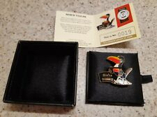 More details for millennium collectables limited edition guinness toucan pin badge.