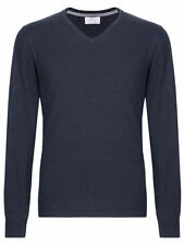 Marks and Spencer Men's Regular Acrylic V Neck Jumpers & Cardigans