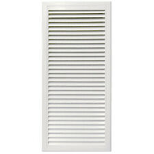Louvered Aluminium Metal Return Air Grille with Filter 750x400mm - LR7540
