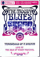 MOODY BLUES live at the isley of wight festival DVD + CD NEU OVP/Sealed