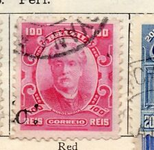 Brazil 1906 Early Issue Fine Used 100r. 113265