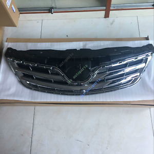 For Toyota Corolla 2011-13 NEW Chrome ABS Front Bumper Middle Grille k Air Vent