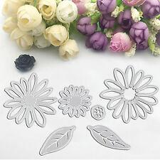 Chrysant Shape Flower Metal Dies Cutting Embossing Stencils for DIY Scrapbooking