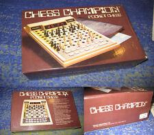 Schachcomputer Novag Pocket Chess mit Figuren Vintage Sammler in OVP mit Anl.