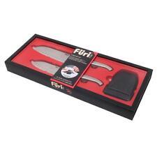 Furi Pro East West Santoku Knife Diamond Sharpener 3 Piece Gift Set