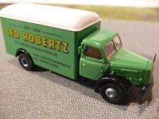 1/87 Brekina Henschel HS 140 Leo Robertz Möbeltransport Sondermodell