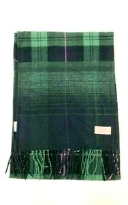 Joules Ladies Girls Women Lin Checked Warm Brushed Scarf - Navy Ombre Check