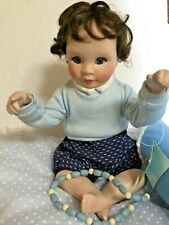 Peter Little Peek a Boo Doll with Blanket & Beads Original Knowles Doll Company