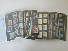 More details for job lot of 35 royal mail presentation packs with mint stamps all unopened