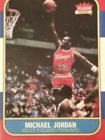 1986-87 Fleer #57 Michael Jordan Rookie - Mint Condition - Chicago Bulls re 📷