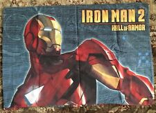 Iron Man 2 Hall of Armor Pillowcase (Std)  **EUC**