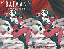 Batman Adventures Continue 1 DC Peach Momoko Minimal Virgin Variant Harley Quinn