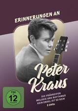 3er DVD mir Peter Kraus-Die Frühreifen, Melodie und Rhytmus, Kein Engel ist so