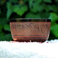 Cuenco Tibetano Rojizo