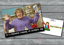 Personalised Funny Mrs Browns Boys Mothers Fathers Day Christmas  Card