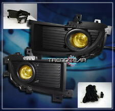 2006 MITSUBISHI LANCER RALLIART 4DR JDM BUMPER YELLOW FOG LIGHTS+SWITCH+HARNESS