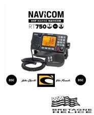 VHF FIXE NAVICOM RT 750 ENCASTRABLE OU SUR ÉTRIER