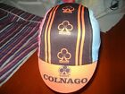 SIDNEY DEAN CYCLING CAP ITALIA HAT CAP POLYESTER SUBLIMATED UV RAY PISTA FIXED