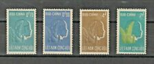 1961 South Vietnam Stamps Plant and Chid Sc # 154 - 57  MNH