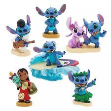 Disney Lilo & Stitch Figurines Figure Play Set / Cake Toppers