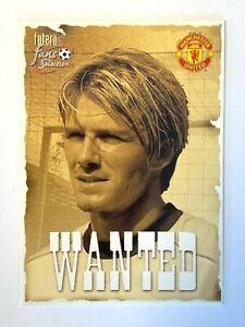 David Beckham  Fans selection Manchester United 200 WANTED Mint #196 Soccer