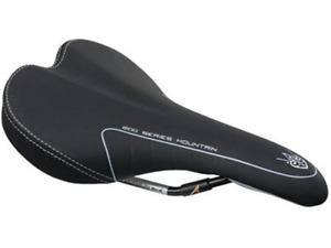 Avenir Womens Saddle - 245 x 150mm - Black - Road, Mountain Bike, Hybrid