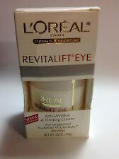 L'Oreal Dermo-Expertise RevitaLift Eye Cream 15ml/0.5oz NEW.