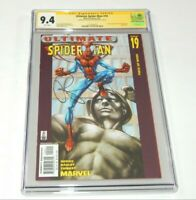 Ultimate Spider-Man #19 CGC 9.4 NM SS Signed by Brian Michael Bendis