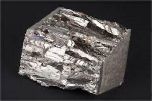 Bismuth 80g (99.99%) Elemental Form - Magnetic Levitation - Crystal Growing
