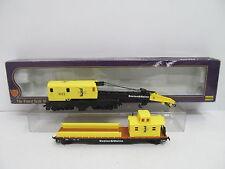 MES-45387 IHC 3567 H0 Kranwagen-Set Boston&Maine sehr guter Zustand,