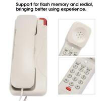 RJ45 Wall Mount Telephone Desktop Landline Phone for Home Office Hotel Business