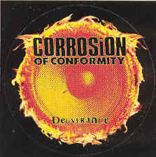 Corrosion of Conformity-Deliverance, rare sticker