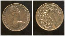 NOUVELLE ZELANDE 1 cent 1978