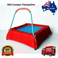 Outdoor Jumper Kids Trampoline Mini Safety Bar Indoor Fun Play Activity New