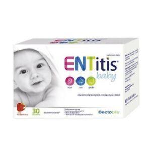 ENTitis Baby Strawberry taste 30 sachets/ENTitis Baby smak truskawkowym, 30 sasz