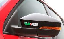6x Aufkleber Skoda vRS für Rückspiegel, Räder, Bremssättel Logo Simbol Octavia