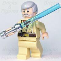 New Star Wars LEGO® Obi-Wan (Ben) Kenobi Jedi Master Minifigure 75270 Genuine