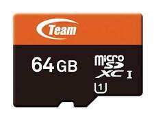 64GB Team microSDXC CL10 UHS-1 Mobile phone memory card