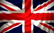 United Kingdom Great Britain Union Jack Country Flag 4x6 ft Print NYLON USA Made