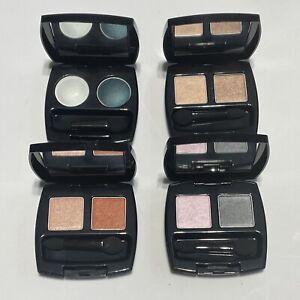 AVON Eyeshadow Duo Lot - Orange Crush Grey Matters Turquoise Jewel Warm Cashmere