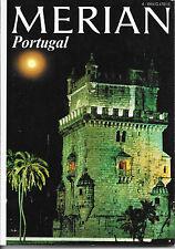 Merian Portugal April 1972/ Heft 4/ 25. Jahrgang Serra da Arrábida Portwein
