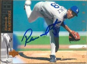 Ramon Martinez Autographed 1994 Upper Deck #349