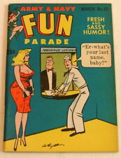 Army Navy Fun Parade, #80, 1957, Bill Wenzel, High Grade Harvey Digest