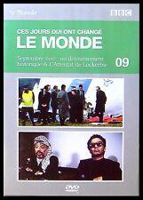 DVD Ces Jours qui ont changé le monde ,Septembre Noir, Attentat de Lockerbie