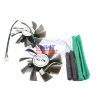 for Gigabyte GV-N460OC-1GI GV-N580UD-15I Replacement 3-Pin Cooling Fan ZVOT780